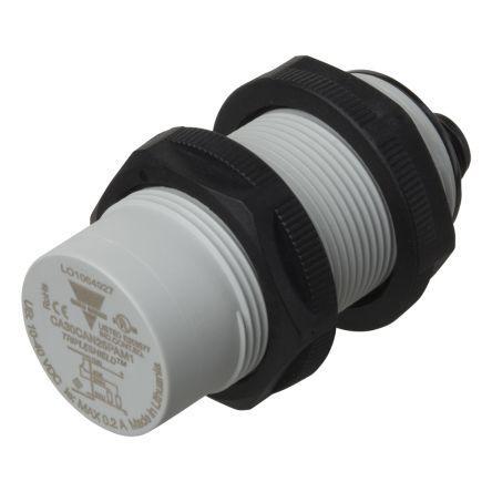 CA30CAN25PAM1                                              Carlo Gavazzi 74mm Capacitive Proximity Sensor, PNP Output, 25 mm Detection Range, IP60, IP67, IP68, IP69K