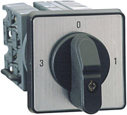1SCA022532R9520                                              2 positions 60° Rotary Switch, 600 V, 25 A, Handle