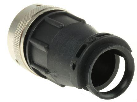 192990-5420/RS467251.0000                                              ITT Cannon QM Series Male Cable Mount Connector, 35 contacts Plug