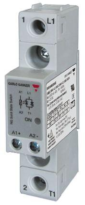 Carlo Gavazzi 30 A SPST Solid State Relay, Zero Crossing, Chassis Mount, 600 V ac Maximum Load