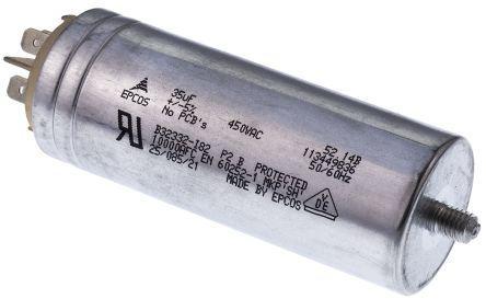 450V +//-5/% MOTOR RUN B32332I6606J082 60UF CAPACITOR EPCOS