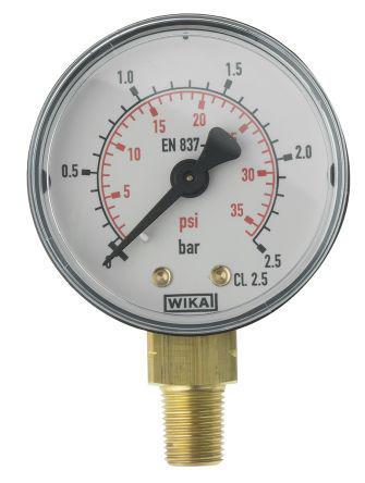 7833968 | WIKA | WIKA 7833968 Analogue Positive Pressure