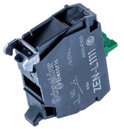 Schneider Electric XB4 XB5 Contact Block 1NO Screw terminal