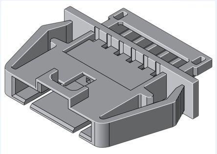 2.54 mm pitch Molex SL 70107 1 rangée mâle Connecteur Housing 3 WAY