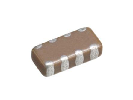 TDK Capacitor Array 100nF 16V dc ±20% 4-way X7R Dielectric 1206 (3216M) Package CKC Series Surface Mount
