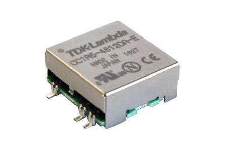 CC-1R5-2412DR-E                                              TDK-Lambda CC-E 1.5W Isolated DC-DC Converter, Voltage in 4.5, 9.0 V dc, Voltage out 12V dc