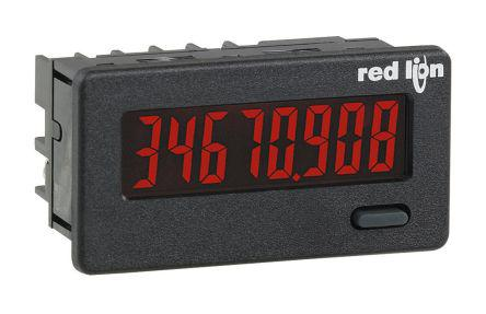 Red Lion 8 Digit, LCD, Counter, 9 → 28 V dc