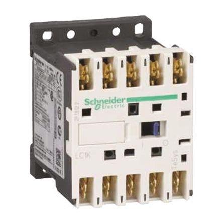 LC1K06107F7                                              TeSys K LC1K 3 Pole Contactor, 6 A, 3 kW, 110 V ac Coil