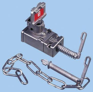 proOption Pod Key Switch, Metal, 2NC/2NO, CLIN S Lock