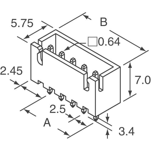 JST Sales America Inc. B5B-XH-A(LF)(SN)