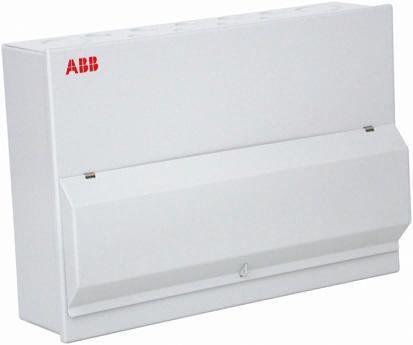1SKB122142C6001                                              ABB 20 Way Steel Consumer Unit, 100A, IP30 Housemaster