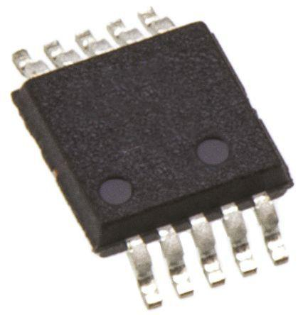AD5663RBRMZ-3                                              Analog Devices AD5663RBRMZ-3, 2-channel 16 bit Serial DAC, 220ksps, 10-Pin MSOP