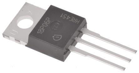 Infineon BSP171PH6327XTSA1 P-Channel MOSFET 1.9 A 60 V SIPMOS 3+Tab-Pin