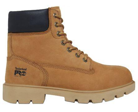 56bbc5bba3d5 Timberland Timberland Pro Sawhorse Men s Beige Leather Boot UK 8.5