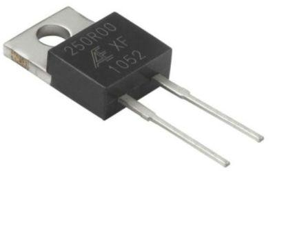 Alpha PD Series TO-220 Radial Fixed Resistor 100mΩ ±1% 1.5W ±15ppm/°C