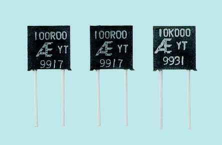Alpha MCY Series Radial Metal Film Fixed Resistor 50kΩ ±0.01% 0.3W ±2.5ppm/°C