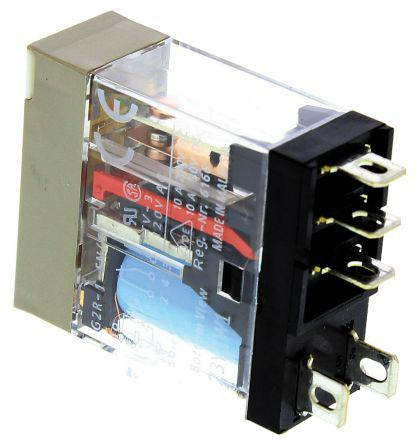 Omron SPDT PCB Mount Non-Latching Relay, 24V dc Coil, 10 A