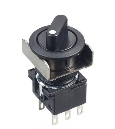 LB6MS-21LT6 | Idec | Black Round Push Button Switch | Enrgtech