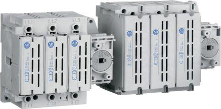 194R-N30-1753                                              3 Pole DIN Rail Non-Fused Switch Disconnector, 30 A, IP66
