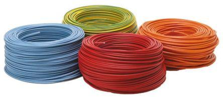 535-997                                              RS Pro Green/Yellow, 100m PVC 2491X Hook Up Wire, 6 mm² CSA , 450/750 V 9 AWG