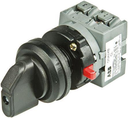 1SCA022708R5620                                              2 positions 90° Rotary Switch, 600 V, 25 A, Handle