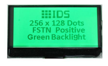 Intelligent Display Solutions CI064-4021-02 Graphic LCD Display White on Blue,