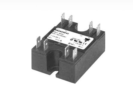 Carlo Gavazzi 50 A DPNO Solid State Relay, Zero Crossing, Panel Mount, 530 V ac Maximum Load