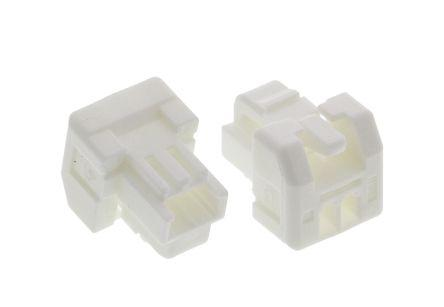 Molex CLIK-MATE Series 1.25mm Pitch 2 Way 1 Row Male Straight Crimp Connector Housing 502380