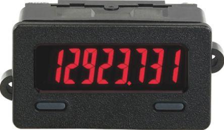 Red Display High Volt Input RED LION CUB7TVR0 Timer