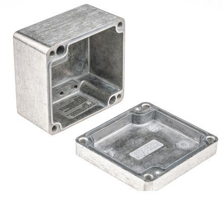 Hammond 1590D Diecast Enclosure Natural 187.5 x 119.5 x 56mm