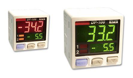 DP102M                                              Panasonic Gauge Pressure Sensor, 1Mpa Max Pressure Reading , 12 → 24 V dc, G1/8, IP40