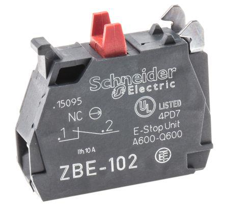 Schneider Electric XB4 XB5 Contact Block 1NC Screw terminal