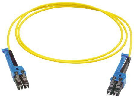 PCRS_LCUX_LCUX_A221T_03.0_SS                                              Huber & Suhner 3m Fibre Optic Cable Assembly LC to LC, Single Mode UPC