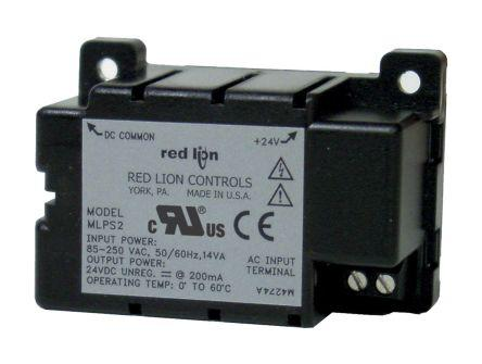 Red Lion Power Supply MLPS2000 for use with CUB4, CUB5, DT8 Panel Meters