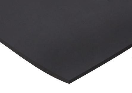 506-3141                                              Black Neoprene Rubber Sheets, 1m x 600mm x 6mm