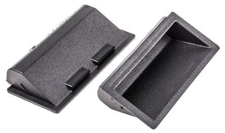 Rs 407 6865 Pinet Pinet Black Plastic Concealed Fixings Drawer