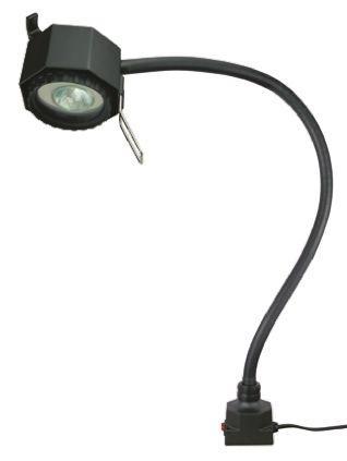 serious halogen machine light, 24 v, 50 w, flexible, 700mm reach,
