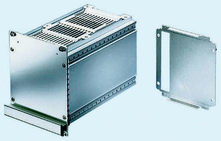 20846663                                              Ventilated Plug-in Unit with Handles, 3U, 21hp, 167mm Deep