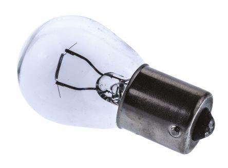 BA15s Base Clear Incandescent Car Lamps 12 V, 21 W