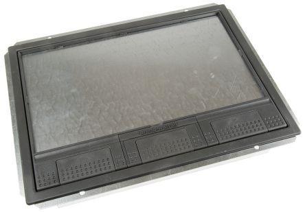 Fbl3abs Legrand Legrand Grey Floor Box Cover Kit 3