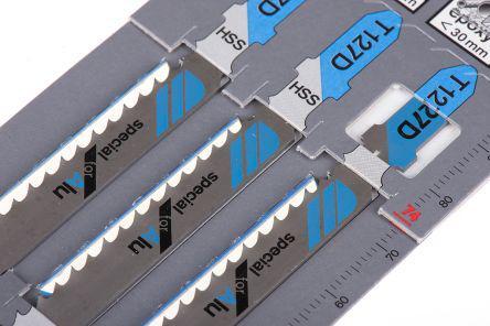 75mm Cutting Length 4mm Tooth Pitch Bosch T-Shank Jigsaw Blade Set