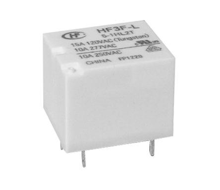 610 Hongfa Europe GMBH 12VDC 8A DPDT Non-Latching Relay HF115F//012-2ZS4BF