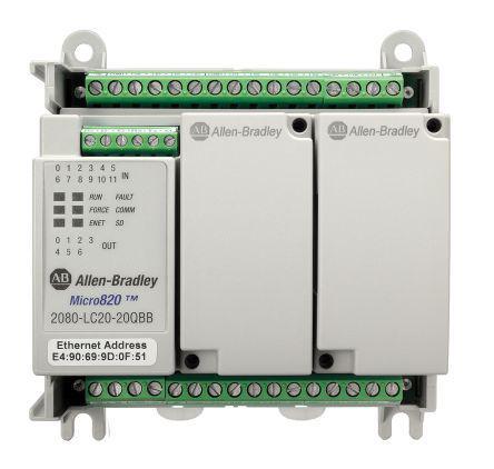 2080-LC20-20QBB | Allen Bradley | Allen Bradley PLC CPU