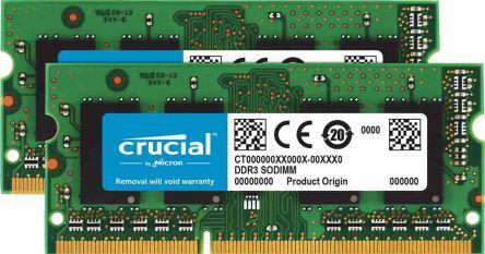 CT2K102464BF186D                                              Crucial 16 GB DDR3 RAM 1866MHz SODIMM 1.35, 1.5 V