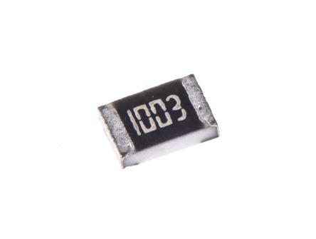 TE Connectivity CRG Series Thick Film Surface Mount Fixed Resistor 0805 Case 100kΩ ±1% 0.125W ±100ppm/°C