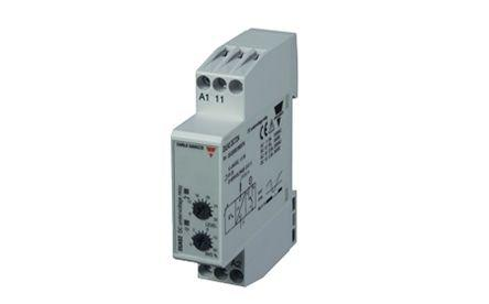 Carlo Gavazzi Voltage Monitoring Relay with SPDT Contacts, 12 → 24 V dc