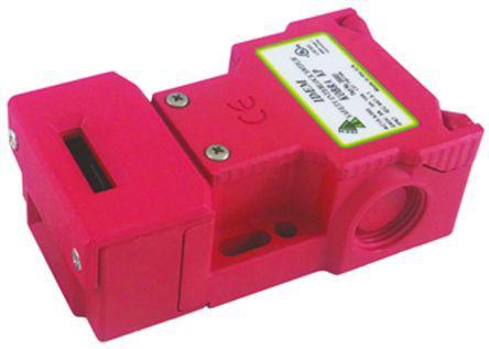 XMR1 Safety Interlock Switch, Die Cast Zinc, 2NC/2NO, CL-A Lock