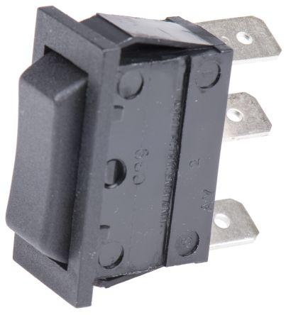 ON-OFF-ON Rocker Switch Panel DPDT Arcolectric Double Pole Double Throw