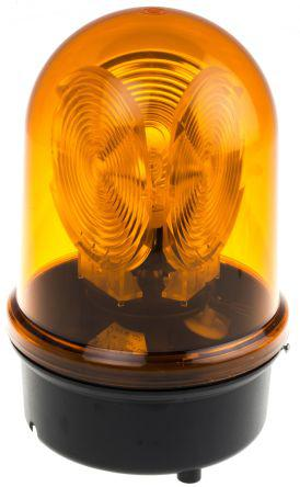 88430068                                              Incandescent, Rotating Beacon 884 Series, Yellow, Surface Mount, 230 V ac