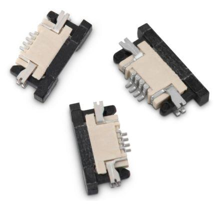 687133183722                                              Wurth Elektronik WR-FPC 0.5mm Pitch 33 Way Horizontal SMT Female FPC Connector, Bottom Contact